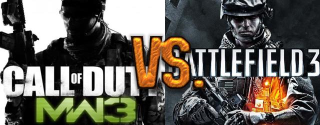 BF3 vs MW3