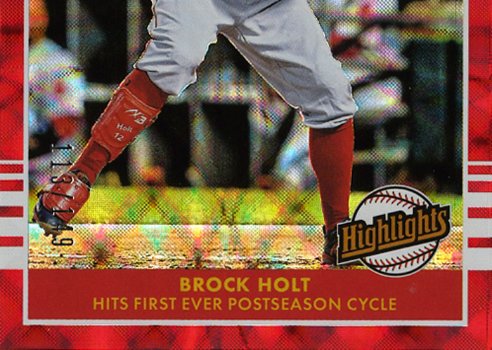 2019 Donruss Highlights